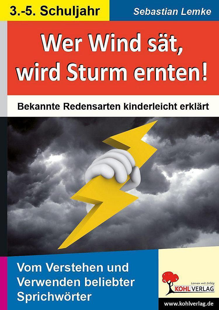 Wer Sturm Sät Wird Wind Ernten