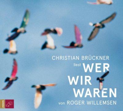 Wer wir waren, 1 Audio-CD, Roger Willemsen