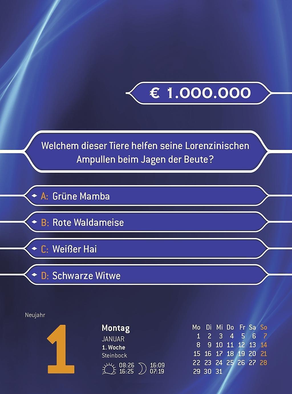 Wer Wird Millionär Fragen Antworten