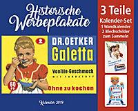 Werbeplakate Kal. 2019  + 2 Blechschilde - Produktdetailbild 16