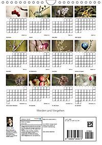 Werden und Vergehen (Wandkalender 2019 DIN A4 hoch) - Produktdetailbild 13