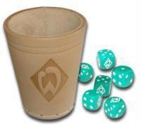 Werder Bremen Würfelbecher (Spiel), m. 6 Würfeln