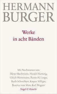 Werke, 8 Bände - Hermann Burger |