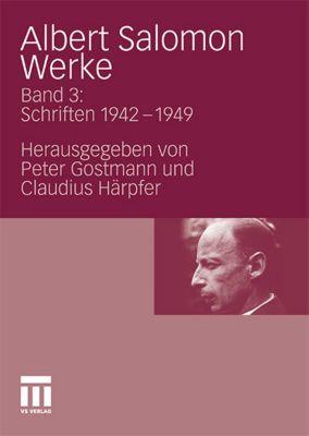 Werke: Bd.3 Schriften 1942-1948