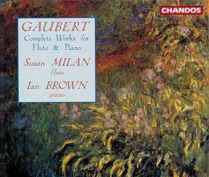 Werke F.flöte U.klavier (ga), Susan Milan, Ian Brown