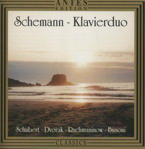 Werke für 2 Klaviere, Schemann-Klavierduo