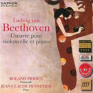 Werke für Cello und Klavier, Roland Pidoux, Jean-Claude Pennetier