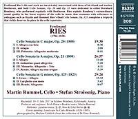Werke Für Cello Vol.1-Cellosonaten - Produktdetailbild 1
