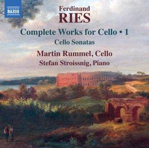 Werke Für Cello Vol.1-Cellosonaten, Martin Rummel, Stefan Stroissnig