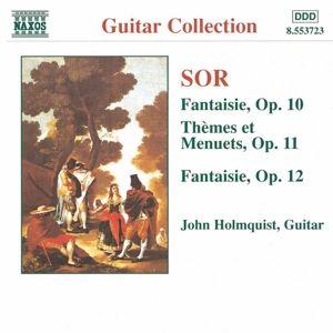 Werke für Gitarre (opus 10-12), John Holmquist