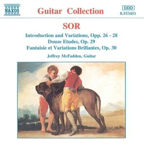Werke für Gitarre opus 26-30, Jeffery McFadden