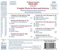 Werke für Horn und Orchester - Produktdetailbild 1