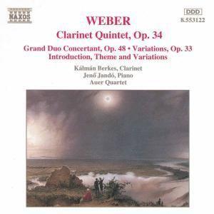 Werke für Klarinette, Berkes, Jando, Auer-Quartett
