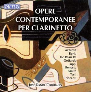 Werke Für Klarinette, Josè Daniel Cirigliano