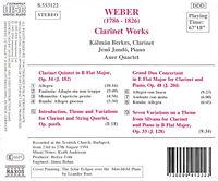 Werke für Klarinette - Produktdetailbild 1