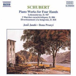 Werke für Klavier zu 4 Händen, Jenö Jando, Ilona Prunyi