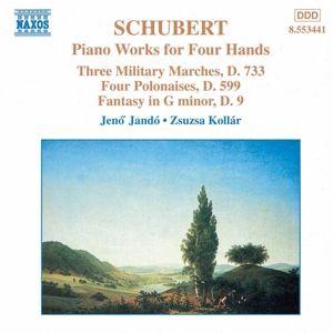 Werke für Klavier zu vier Händen, Jenö Jando, Zsuzsa Kollr