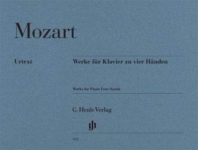 Werke für Klavier zu vier Händen, Wolfgang Amadeus Mozart