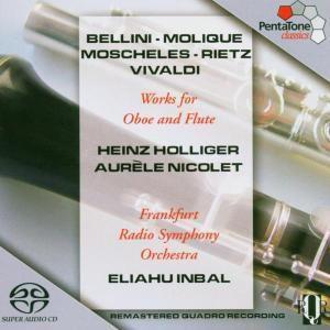 Werke Für Oboe Und Flöte, Holliger, Nicolet, Inbal