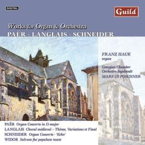 Werke Für Orgel+Orchester, M.poschner,f.hauk Georgian Chamber Orch.ingols.