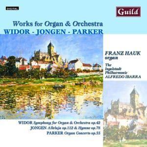 Werke Für Orgel+Orchester, Alfredo Ibarra,Franz Hauk Ingolstadt Philharm.
