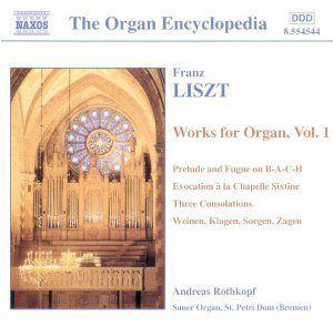 Werke für Orgel Vol. 1, Andreas Rothkopf