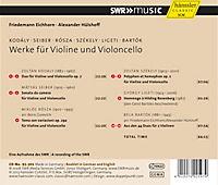 Werke Für Violine Und Violoncello - Produktdetailbild 1