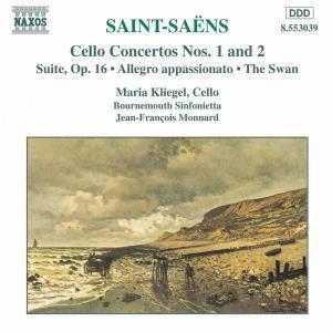 Werke für Violoncello und Orchester, Kliegel, Monnard, Bournem.Sinf.