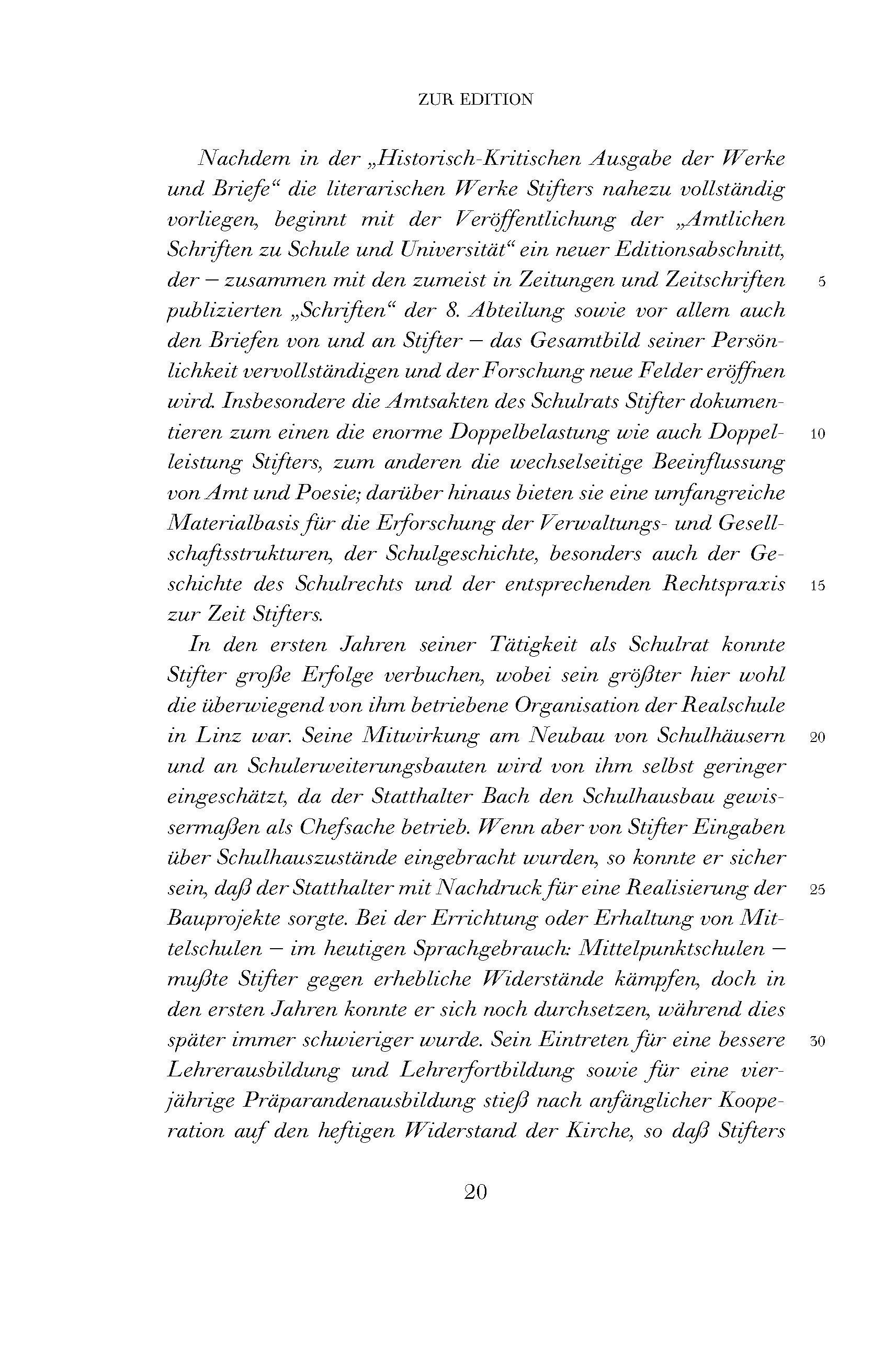 Werke Und Briefe Bd 101 Amtliche Schriften Zu Schule Und