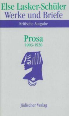Werke und Briefe, Kritische Ausgabe: Bd.3/1-2 Prosa 1903-1920; Anmerkungen, 2 Tle. - Else Lasker-Schüler pdf epub