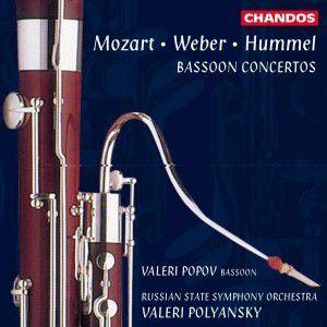 Werke von Mozart, Weber und Hummel, V. Popov, V. Polyansky, Sruss