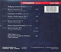 Werke von Mozart, Weber und Hummel - Produktdetailbild 1