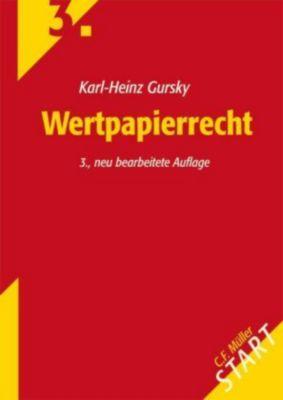 Wertpapierrecht, Karl-Heinz Gursky