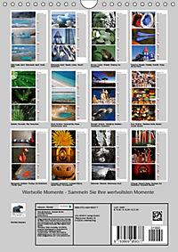 Wertvolle Momente - Sammeln Sie Ihre wertvollsten Momente (Wandkalender 2019 DIN A4 hoch) - Produktdetailbild 13