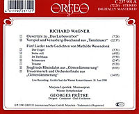 Wesendonklieder/Orchester-Stücke/Liebesverbot/+ - Produktdetailbild 1
