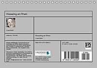 Wesseling am Rhein (Tischkalender 2019 DIN A5 quer) - Produktdetailbild 4