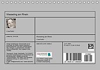 Wesseling am Rhein (Tischkalender 2019 DIN A5 quer) - Produktdetailbild 13
