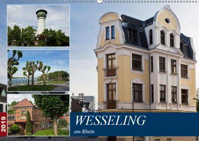Wesseling am Rhein (Wandkalender 2019 DIN A2 quer), U. Boettcher