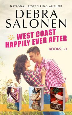 West Coast Happily-Ever-After: West Coast Happily-Ever-After series: Books 1-3 (Her Forever Cowboy, Never Say Never, Caleb's Christmas Wish), Debra Salonen