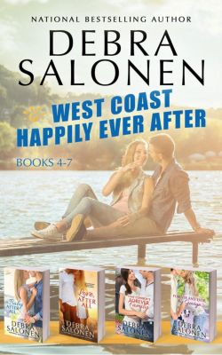 West Coast Happily-Ever-After: West Coast Happily-Ever-After Series: Books 4-7 (A Baby After All, Love After All, That Cowboy's Forever Family, and Forever and Ever, By George), Debra Salonen