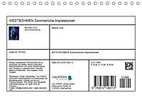 WESTBÖHMEN Sommerliche Impressionen (Tischkalender 2019 DIN A5 quer) - Produktdetailbild 11