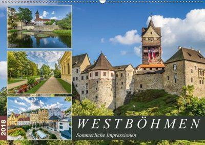 WESTBÖHMEN Sommerliche Impressionen (Wandkalender 2018 DIN A2 quer), Melanie Viola