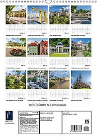 WESTBÖHMEN Terminplaner (Wandkalender 2018 DIN A3 hoch) - Produktdetailbild 13