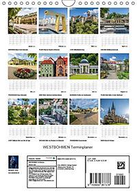 WESTBÖHMEN Terminplaner (Wandkalender 2018 DIN A4 hoch) - Produktdetailbild 13
