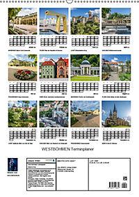 WESTBÖHMEN Terminplaner (Wandkalender 2019 DIN A2 hoch) - Produktdetailbild 13