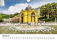 Westböhmisches Bäderdreieck - Karlsbad, Marienbad und Franzensbad (Wandkalender 2018 DIN A4 quer) - Produktdetailbild 2