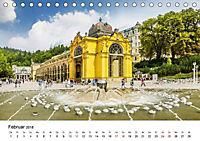 Westböhmisches Bäderdreieck - Karlsbad, Marienbad und Franzensbad (Tischkalender 2018 DIN A5 quer) - Produktdetailbild 2