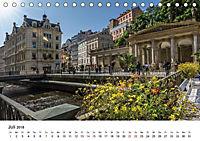 Westböhmisches Bäderdreieck - Karlsbad, Marienbad und Franzensbad (Tischkalender 2018 DIN A5 quer) - Produktdetailbild 7