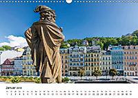 Westböhmisches Bäderdreieck - Karlsbad, Marienbad und Franzensbad (Wandkalender 2018 DIN A3 quer) - Produktdetailbild 1