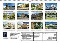 Westböhmisches Bäderdreieck - Karlsbad, Marienbad und Franzensbad (Wandkalender 2018 DIN A3 quer) - Produktdetailbild 13